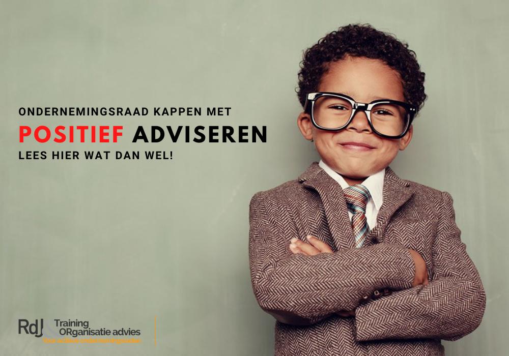 Kappen met positief adviseren