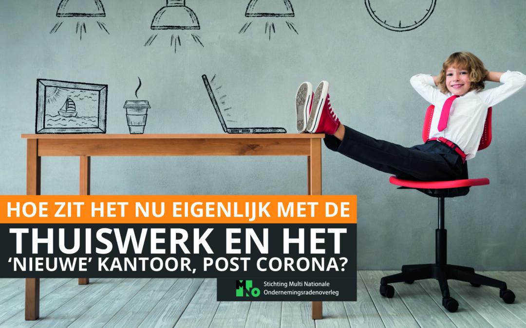Thuiswerken en het 'nieuwe' kantoor post-corona