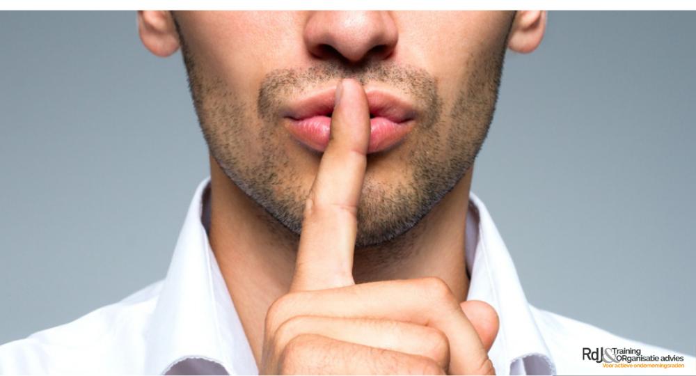 Geheimhouding ondernemingsraad